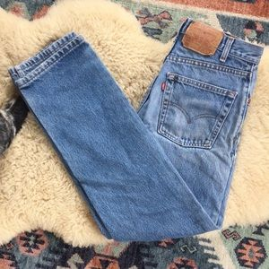 Vintage Levi's 505 Wedgie High Waisted Mom Jeans
